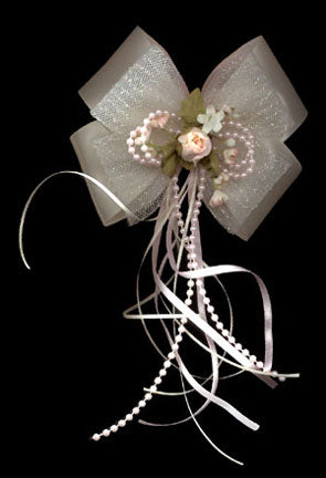 Boutique Satin Bow With Streamers