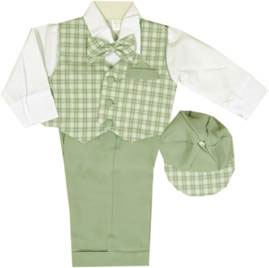 Boy's 5-Piece Vest Set
