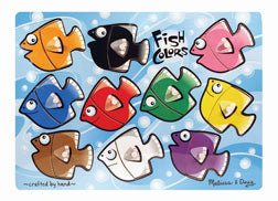 Classic Wooden Fish Peg Puzzle