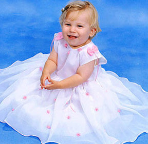 Custom Boutique Pink Angelical Dress Set