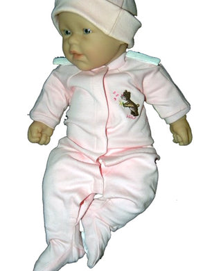 Pink Preemie Coverall