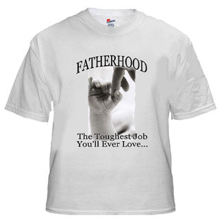 Fatherhood New Daddy Tee Shirt