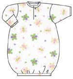 Girls Infant Baby Sleep & Play Gown