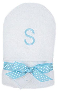 Monogrammed Initial Hooded Towel