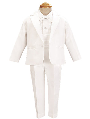 Lito Childrens Wear Boy's Tuxedos & Dresswear White