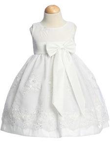 Lito Organza White Fancy Dress
