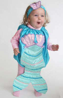 Mermaid Baby Halloween Costume
