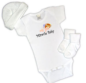 Miracle Baby Newborn 3-Piece Gift Set