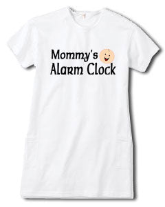 """Mommy's Little Alarm Clock"" Night Shirt Tee"