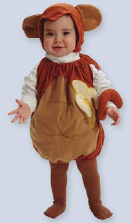 Monkey Infant Halloween Costume