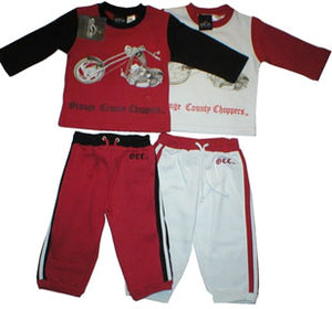 Orange County Chopper Fleece Pant Set