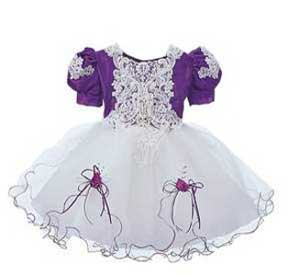 """Paolina"" Girls Beaded Pageant Dress"