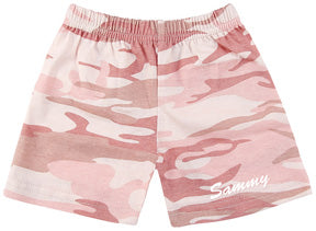 Personalized Baby Girl Camo Shorts