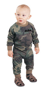 Personalized Camo 2-Piece Set