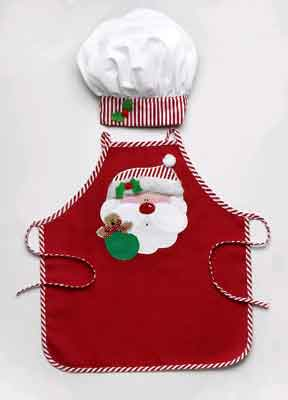 Personalized Child's Apron with Chef Hat