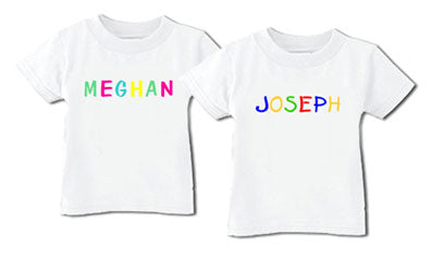 Personalized Child's Name Tee