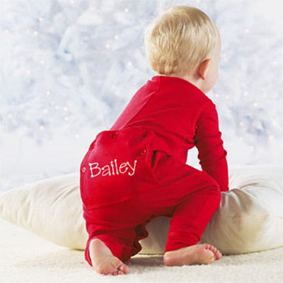 Personalized Christmas Long Johns