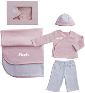 "Personalized Girls 4-Piece ""Take Me Home"" Set"