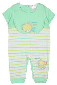 Preemie Mint Coverall Set