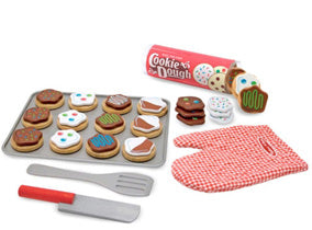 Pretend Play Cookie Slice & Bake Set