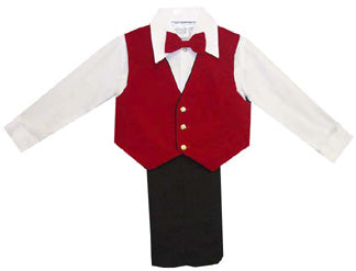 Red Velvet Special Occasion 4-Piece Suit