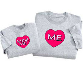 Set of Me & Mini Me Tees For Gals