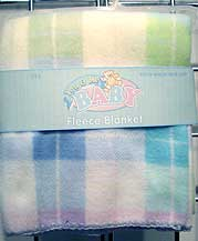 Super Soft Fleece Receiving Blanket