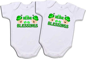 Twins or Triplets Irish Blessings Set