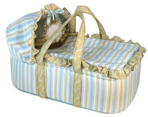 Vintage Style Moses Basket Boys