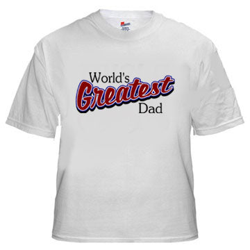 World's Greatest Dad Athletic T-Shirt