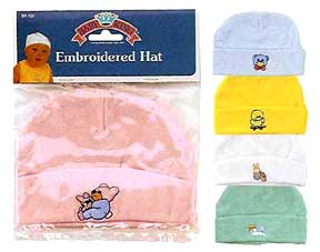 Economy Embroidered Baby Cap