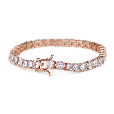5mm Rose Gold Tennis Bracelet - xquisitjewellery