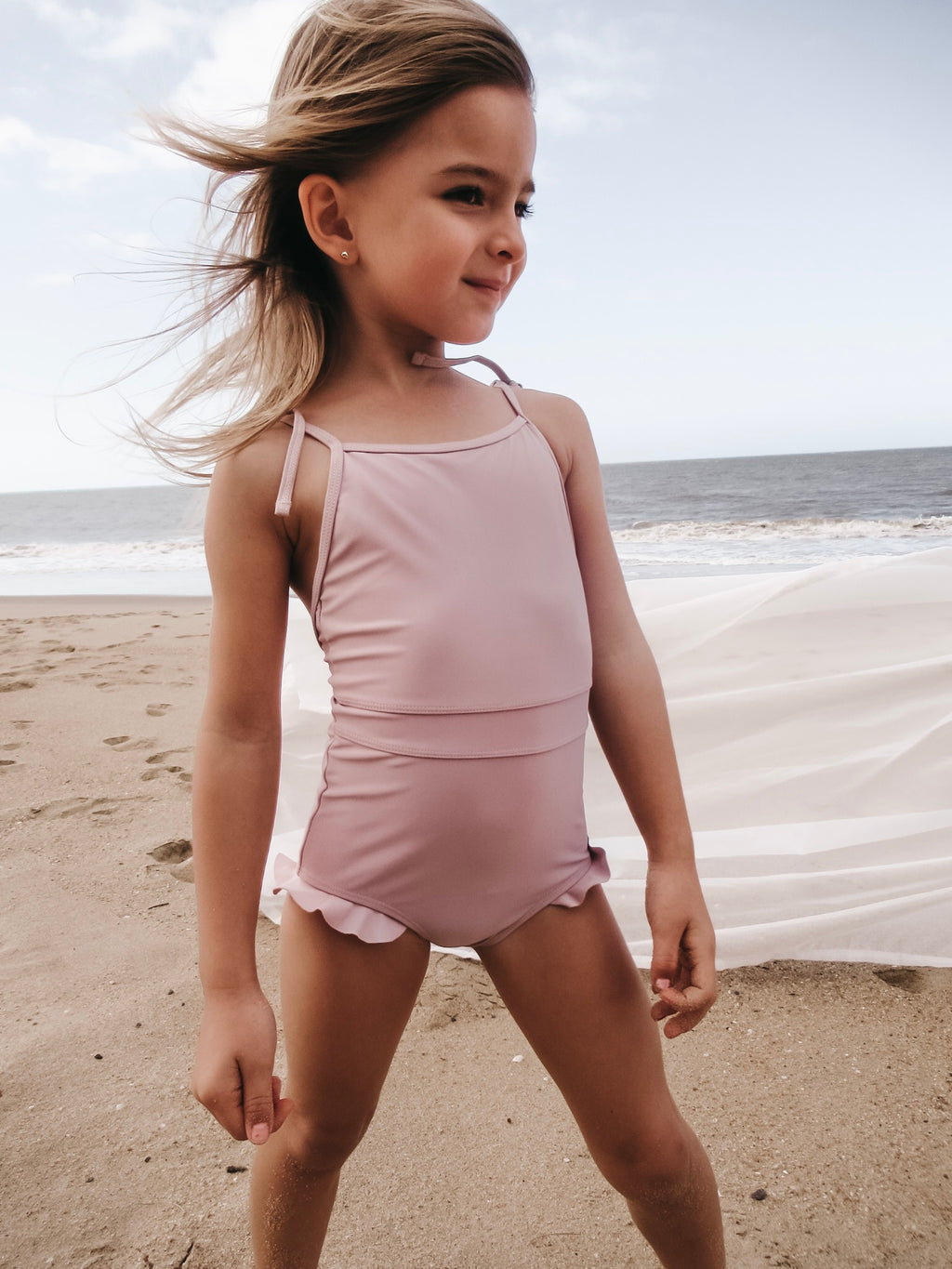 Oak Swimsuit in Blush