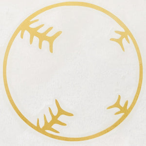 vintage baseball car decal lemon peel baseball