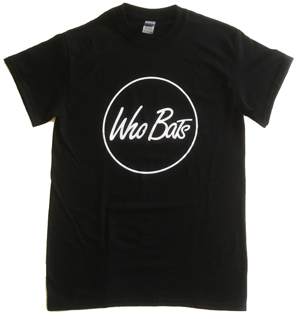 Who Bats T-Shirt Black