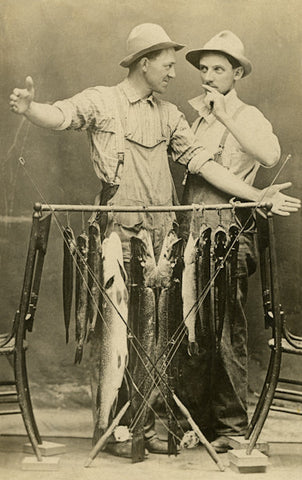 Fishing Postcard Booklet