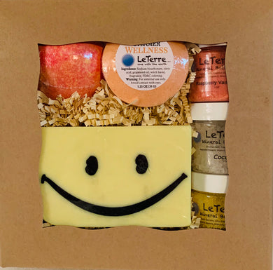 New Happy 2021 Bath and Shower Gift Set