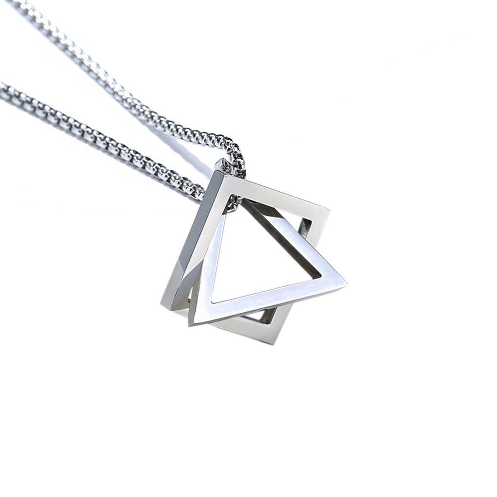 Square Triangle Necklace