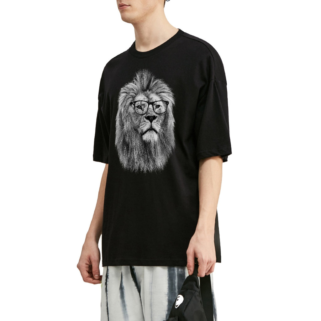 Philosopher Lion V3 Oversized T-Shirt