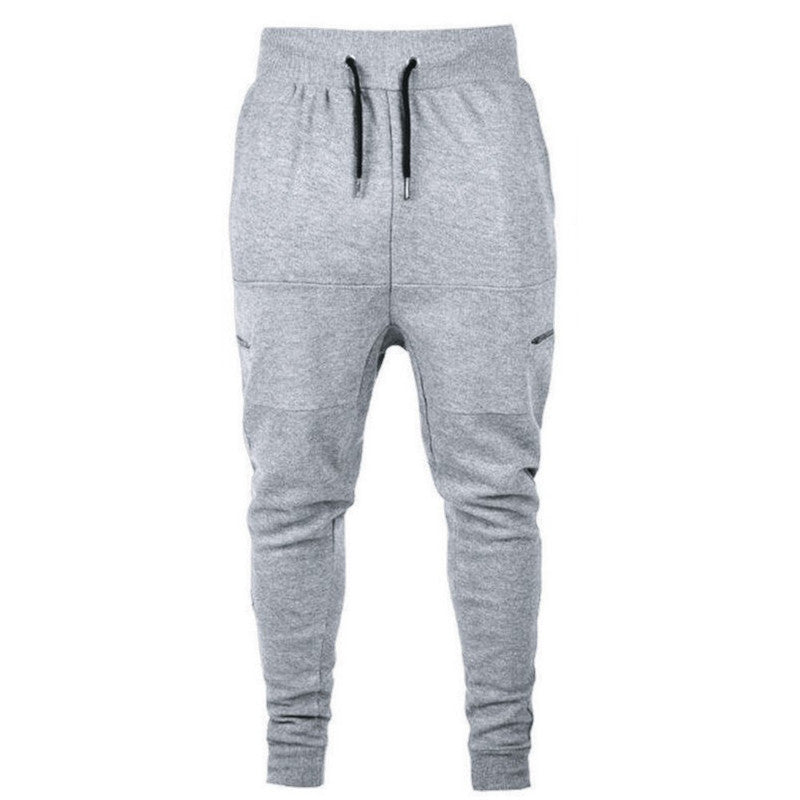 Gray Baggy Sweatpants
