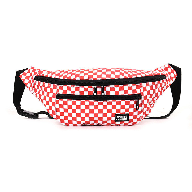 Checkered Waist Bag