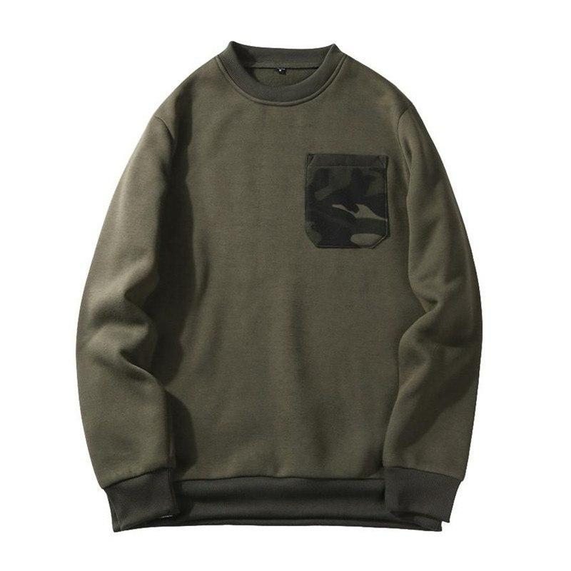 Solo Camo Pocket Sweatshirt