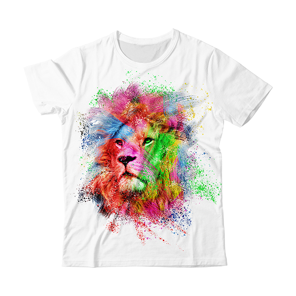 Artistic Lion T-Shirt
