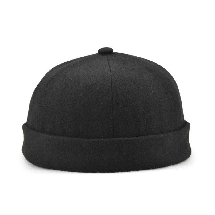 Solid Cotton Skull Cap