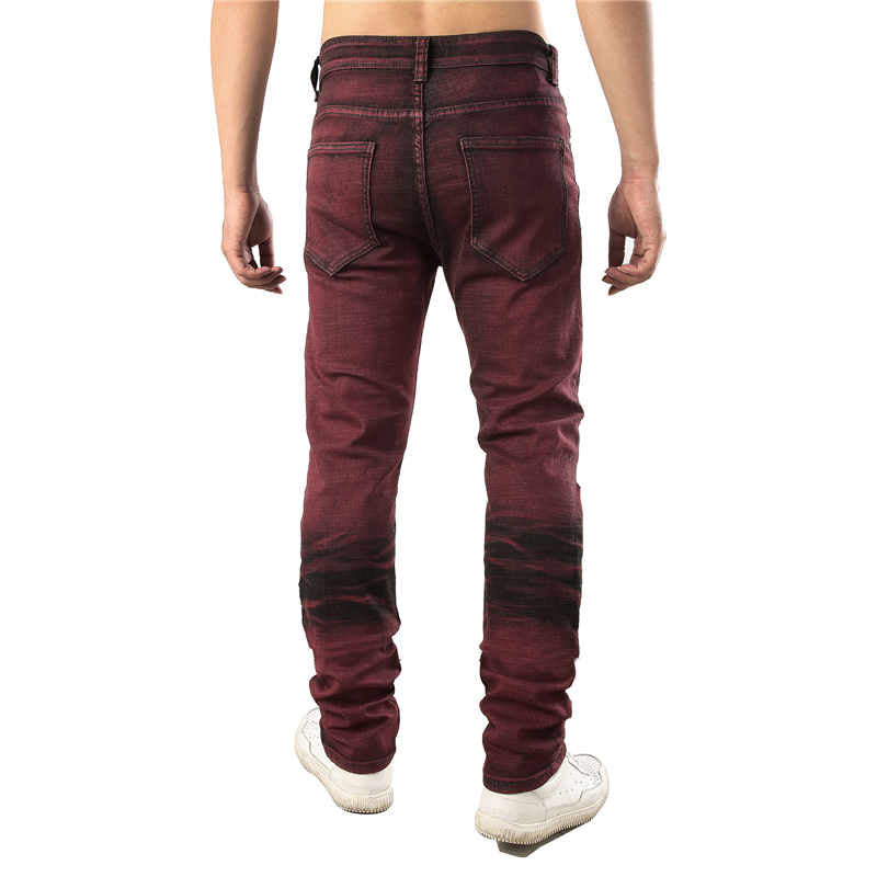 Washed Tapered Jeans