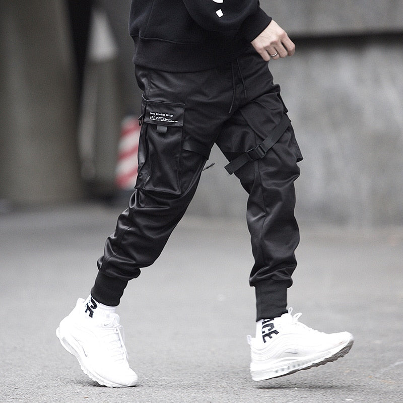 Casual Black Joggers