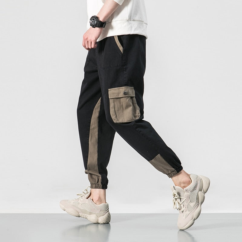 Multi-Pocket Cargo Joggers