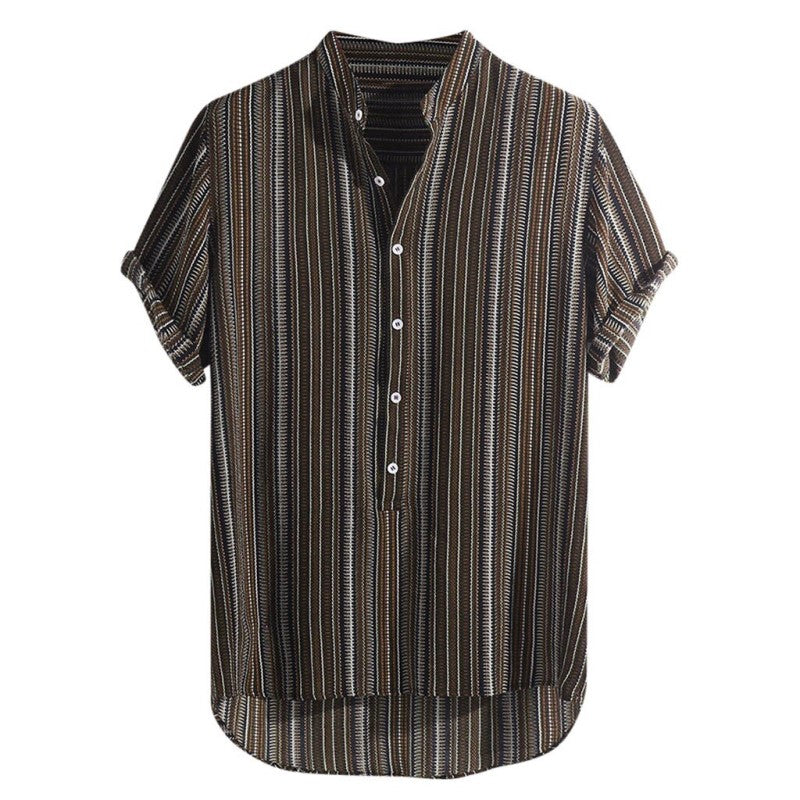Breathable Summer Short Sleeve Shirt