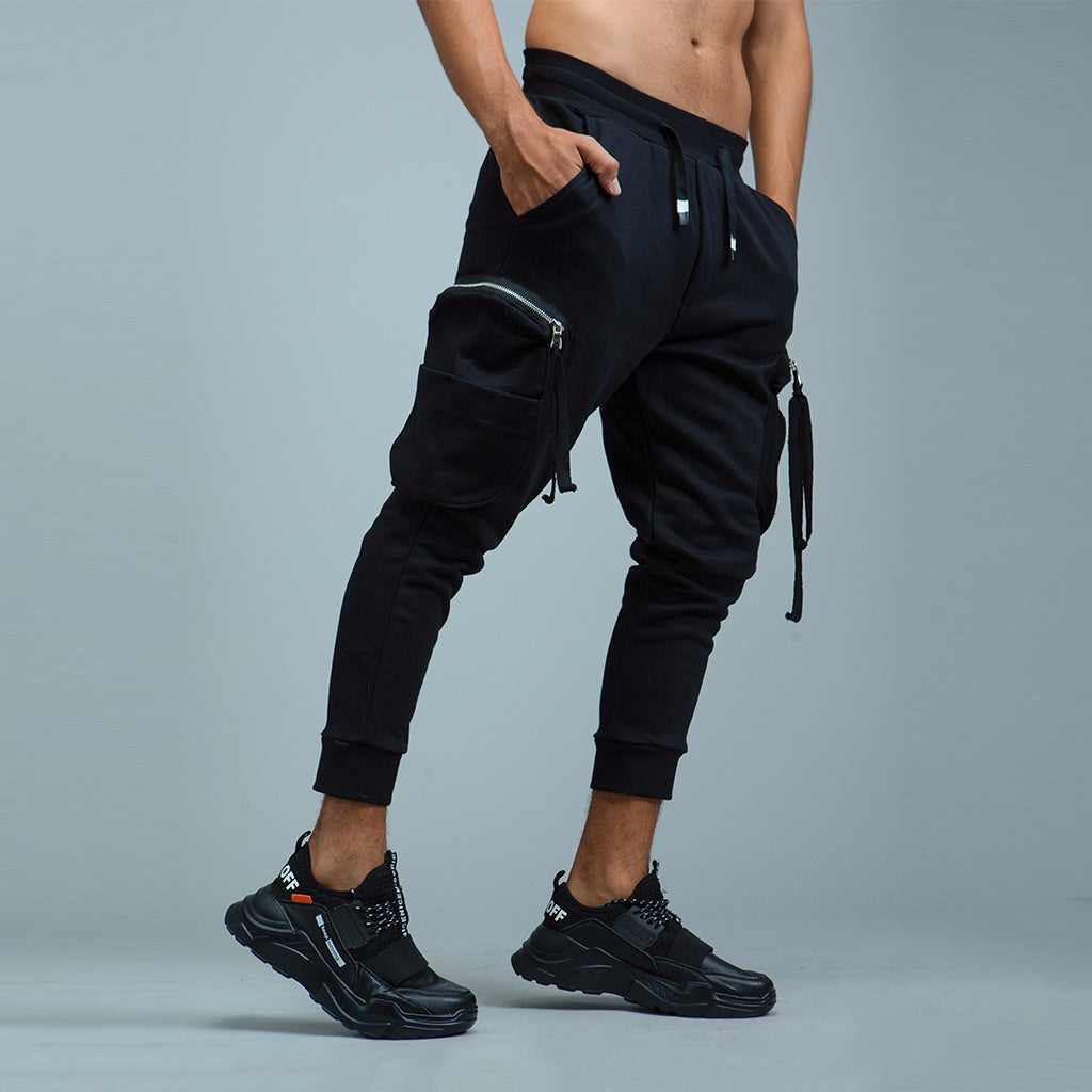 Cargo Pockets Slim Joggers