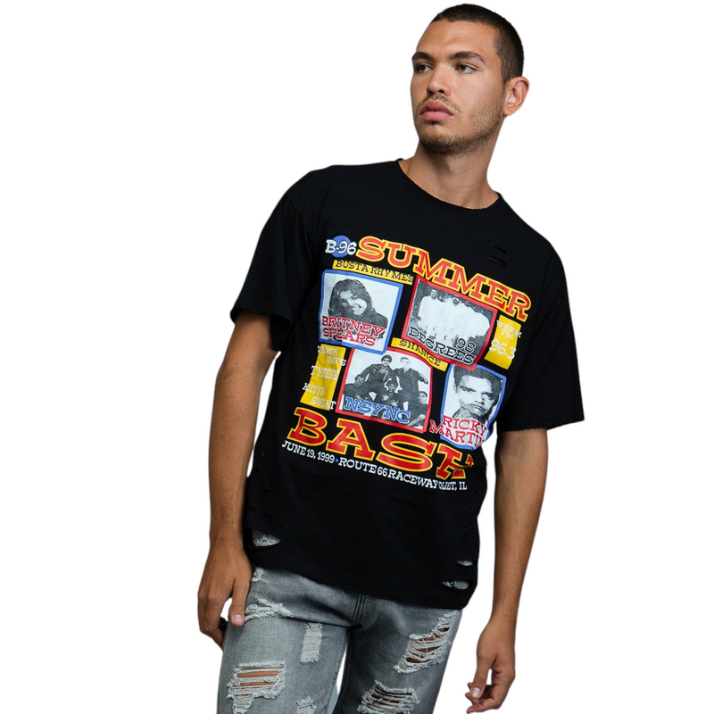Throwback Poster Graphic T-Shirts